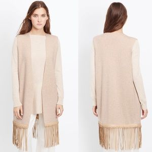 ✨ Vince Natural Luxe Wool Cashmere Vest ✨